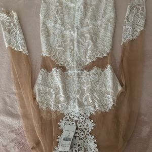 Brand new fashion nova lace dress